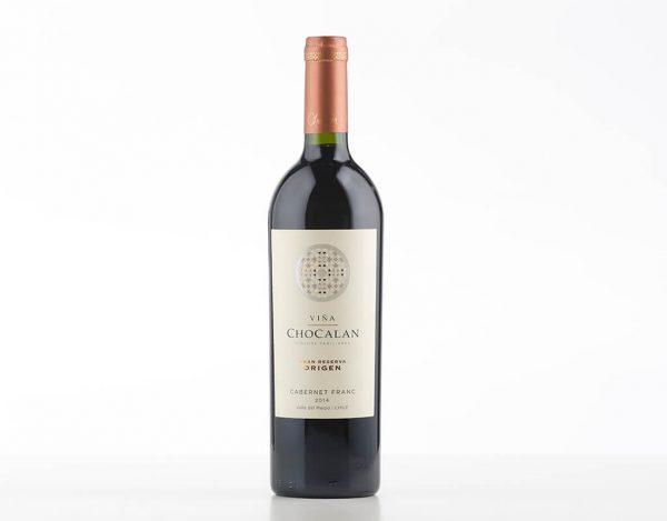 Vinho Tinto Chileno Chocalán Origen Gran Reserva Cabernet Franc