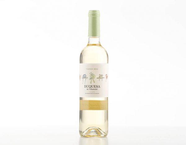 Vinho Branco Espanhol Lan Duquesa de Valladolid
