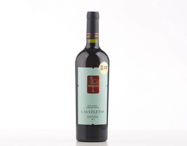 Vinho Tinto Chileno Las Veletas Petit Verdot Cabernet Franc