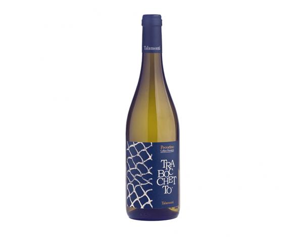 Vinho Branco Italiano Talamonti Trabocchetto Pecorino Colline Pescaresi